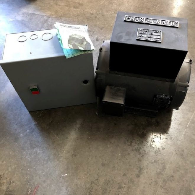 712-1 Phase-a-matic R7 7HP Phase Converter