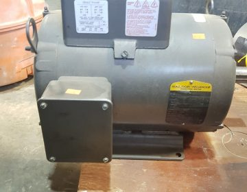 721-3 Baldor 7.5 HP Single Phase Motor