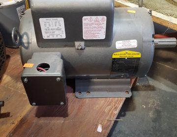 721-8 Baldor 5HP Single Phase Motor