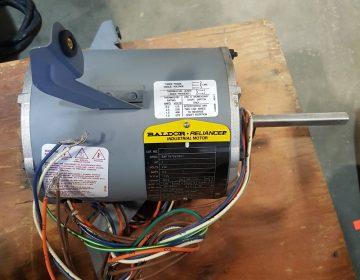 721-9 Baldor 1 HP Single Phase Motor