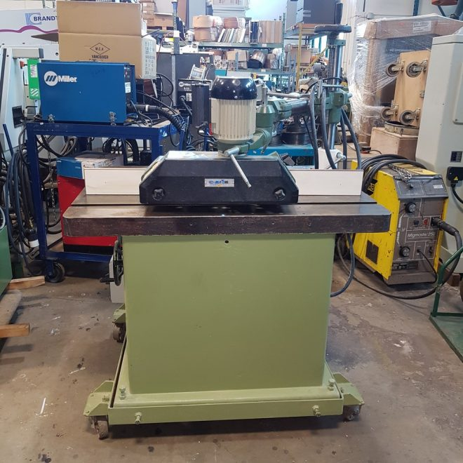 719-3 Shaper with Power Feeder-9