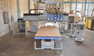 Used Heian NC-531PF CNC Router 5' x 10' Table