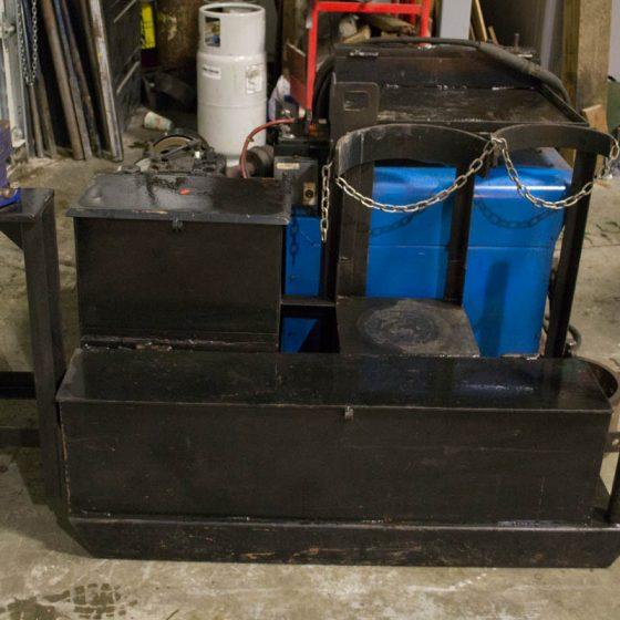 Portable Miller Gas Welder with 16HP Motor