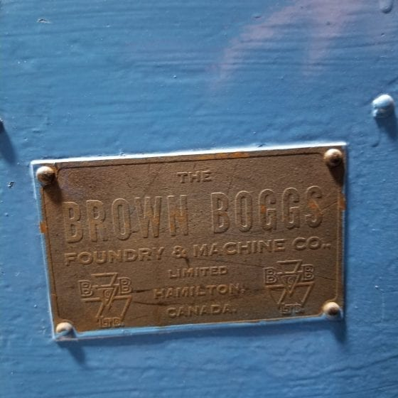 Brown & Boggs foundry machine