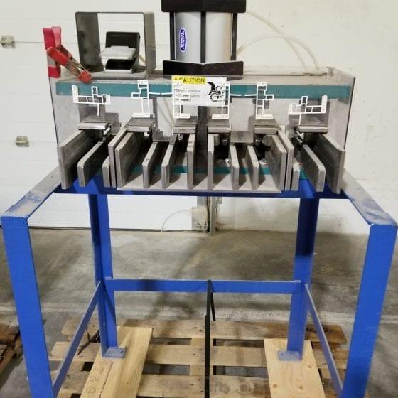 Custom Vinyl window punching machine