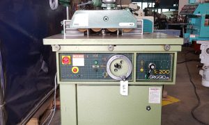 Griggio TC200 Shaper with Feeder