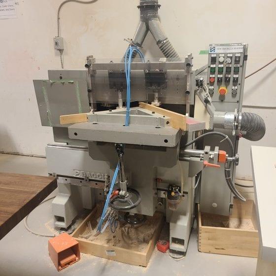 Paolini Bacci TTF1 T2M MIter Door Cutting-Boring_Moulding Machine