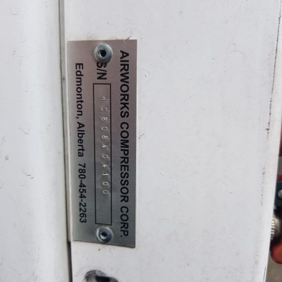 Twister T100 Diesel Compressor