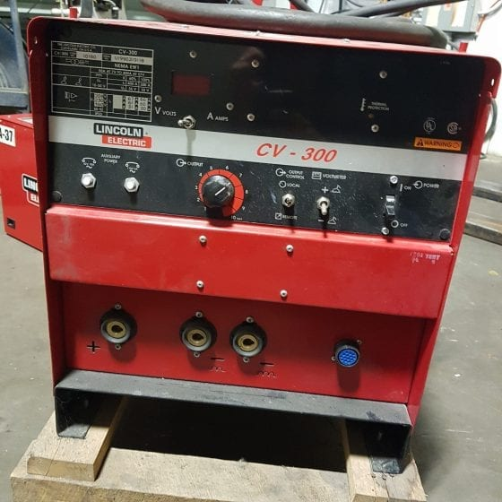 Lincoln CV -300 Welder with Cobramatic K1585-1 Wire Feeder