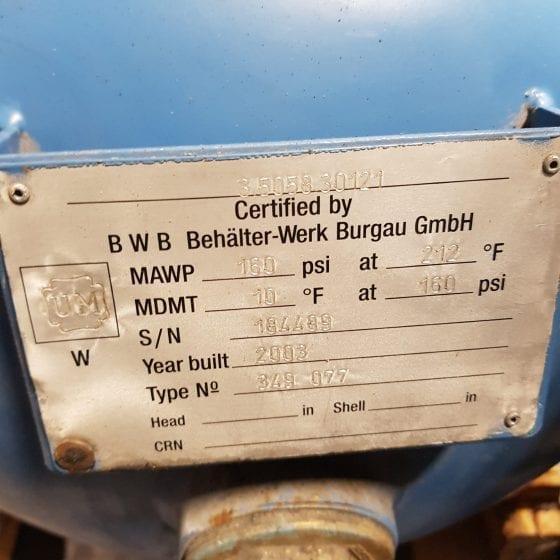 Kaeser EPC 440-100 Piston Compressor