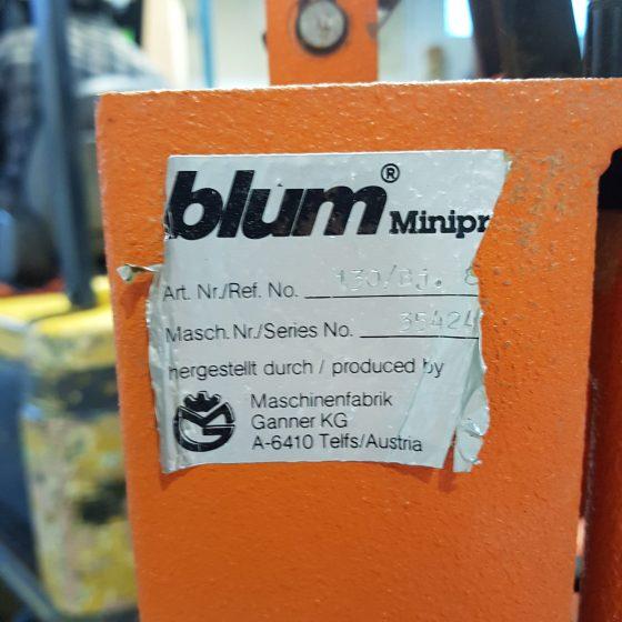 Blum Hinge Drill