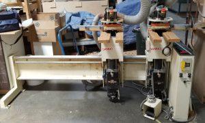587-17 Gannomat Hinge Drill