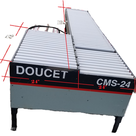 Doucet CMS-24 Return Conveyor