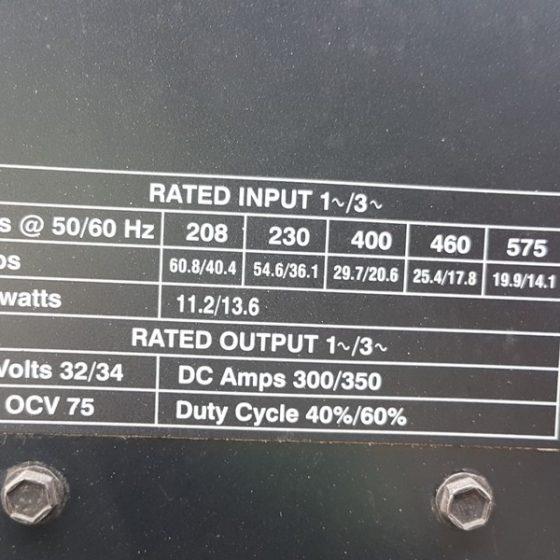 617-100 Miller XMT 350 cc/cv Autoline