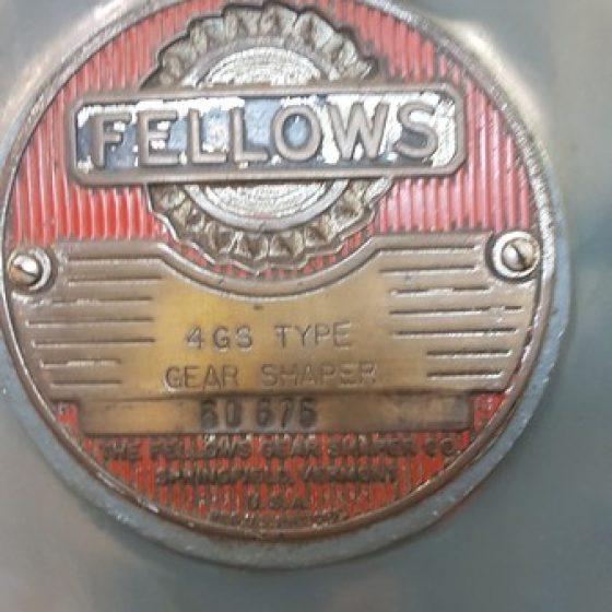 Fellows 4GS Type Gear Shaper