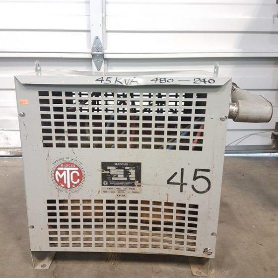 Marcus 45KVA 480V - 240V Transformer
