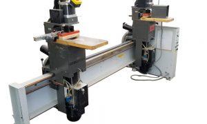 650-3 GANNOMAT 272 Automation 2-Station Hinge Drill