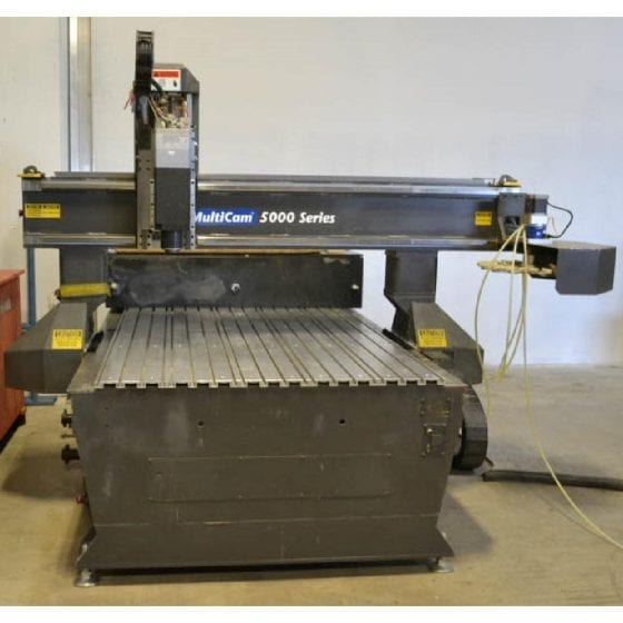 Used Multicam 5000 Series CNC Router