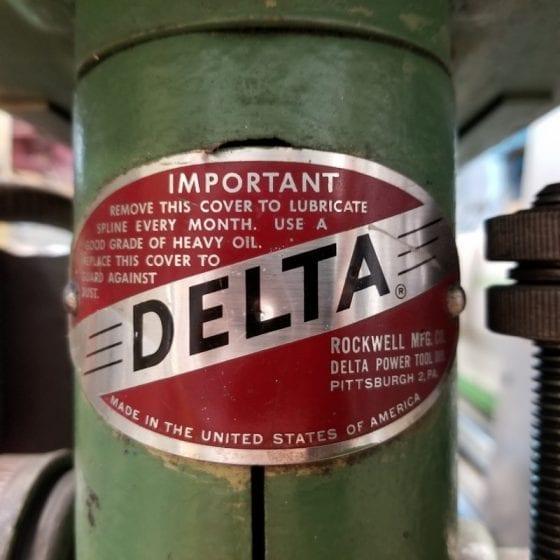 685-7 Rockwell Delta Drill Press