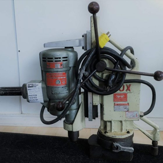 BUX Mag Drill With Press & Magnetic Stand