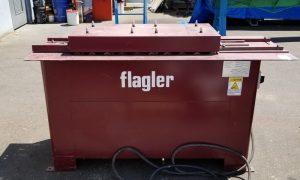 690-6 Flagler Quadformer S and Drive Cleat Machine