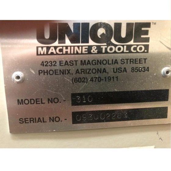 Unique 310 Cope Machine