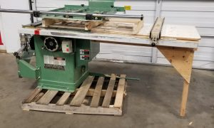 General Cabinet Saw with Sliding Table