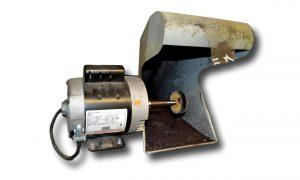 Polishing Machine w/ 1 H.P. Single Spindle Polishing Motor and 1 Hood