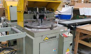 Emmegi 550 SCA Single Head Aluminum Mitre Saw