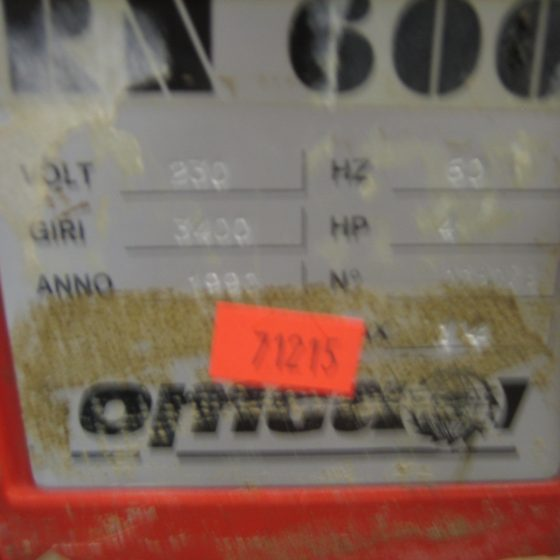 Omga RN 600 Radial Arm Saw