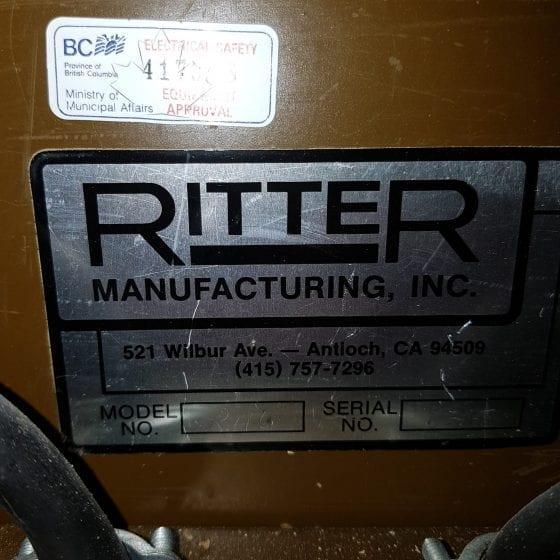 Ritter R46 Double Head Boring Machine