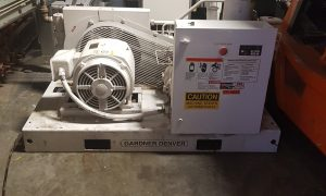 50 HP Gardner Denver Screw Compressor