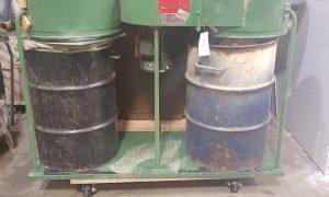 Cantek double bag dust collector