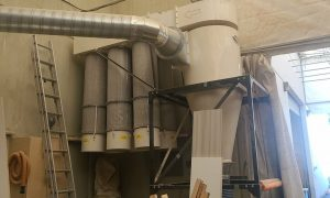 Oneida 20 HP Cyclone Dust Collector
