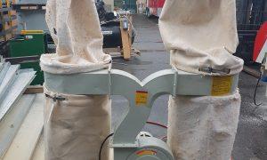 Unimac 3HP Dual Bag Dust Collector