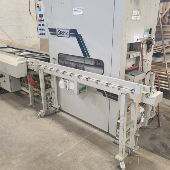 Stahle Saturn E 180 Top and Bottom Sander
