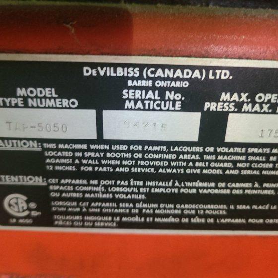 Devilbiss Piston Compressor