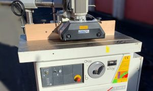 SCM T130 Shaper with Power Feed