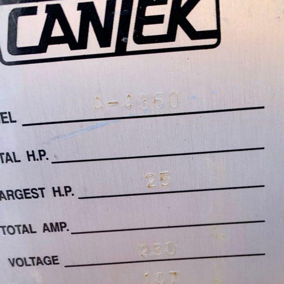 Cantek A4360 Wide Belts Sander