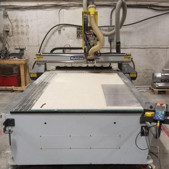 Multicam Series 3000 CNC Router