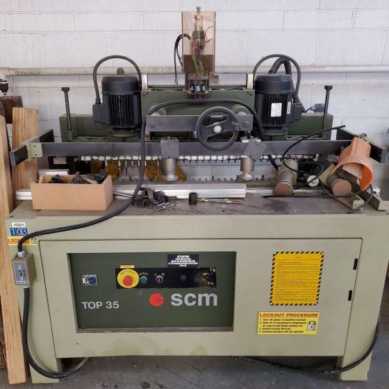 SCM Top 35 Multi Spindle Boring Machine