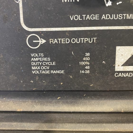 Canox C-451 DW Welding Power Supply