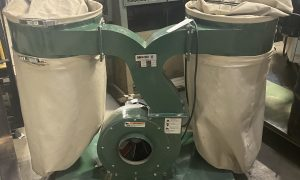 Canwood Dual Bag Dust Collector